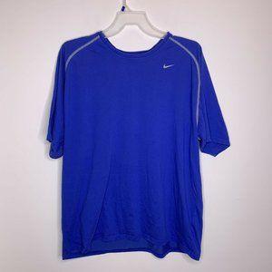 Nike Pro Performance Mens XXL Blue Swoosh Logo